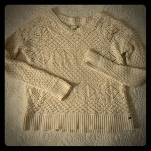 Cream colored sweater from American Eagle